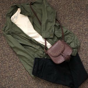 Long Army Green Jacket